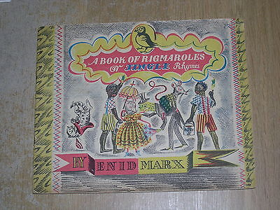A Book Of Rigmaroles Or Jingle Rhymes Enid Marx (Paperback)