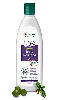 Indian Himalaya Baby Massage Oil - healthy oil for massage baby body - 100ml