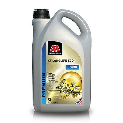 Millers Oil XF Longlife ECO 5w30 Fully Synthetic Engine Oil 5Ltr