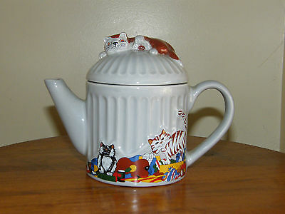 Wade - Whimsical Teapots - Feline Collection - J Wootton