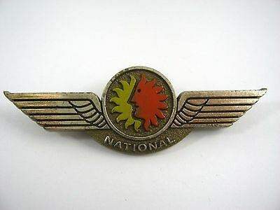 Vintage Collectible Pin: National Airlines Wings Design