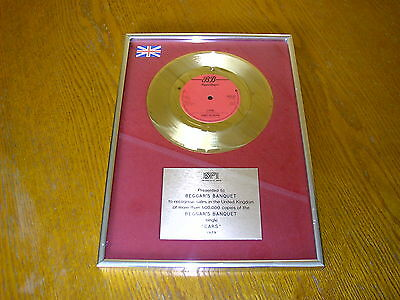 Gary Numan - Cars Gold Presentation Disc!!!!!