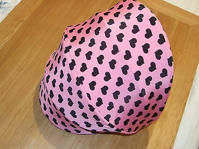 pink with little hears hood cover for quinny moodd ( cover only )