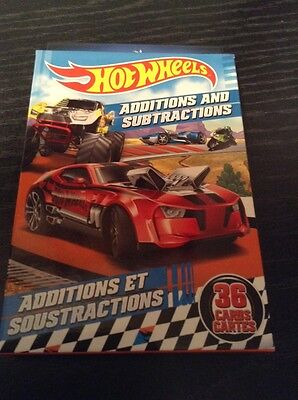 Hot Wheels Addition And Subtraction Add Subtract Numbers New Genuine Product