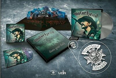 Motörhead|Lemmy|Clean your clock|LIMITED box set|SPECIAL BOMBER COVER|SEALED|NIB