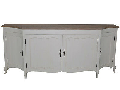 Vintage Sideboard Wooden Provencal Chest Of Drawers Cupboard Retro French Style
