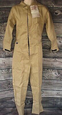 Stanco Westex Indura Long Sleeve Flame Resistant Coveralls Men's Medium NWY