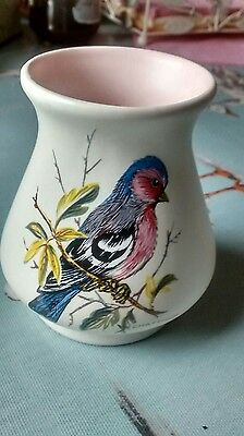 Axe Vale Pottery chaffinch vase