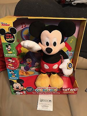 Mickey Mouse Clubhouse Toy Disney Diggity Plush Interactive Dancing Hot Dog Song