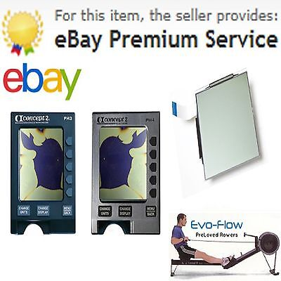 Replacement Screen For Concept 2 PM3 & PM4 Monitors, Easy To Install