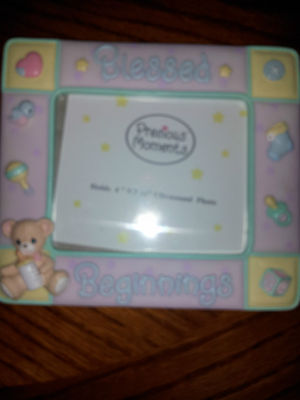 Precious MomentsBlessed Beginnings Baby Photo Frame