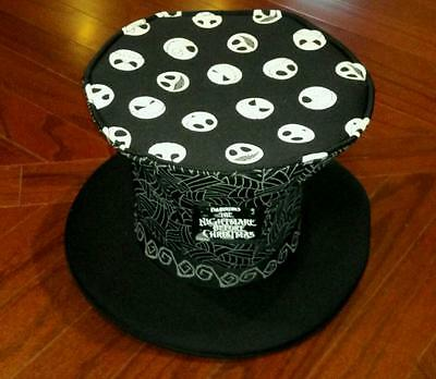 New Authentic Disney Parks Jack Skellington Nightmare Before Christmas Top Hat