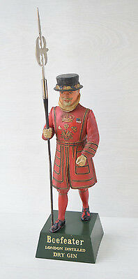 Collectible Polystyrene Figurine of Beefeater London Destille Dry Gin Advertise