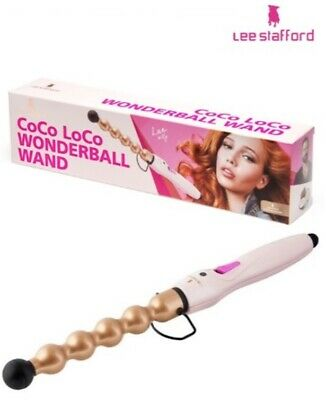 Lee Stafford CoCo LoCo Wonderball Bubble Hair Curling Styling Wand Wild Curls