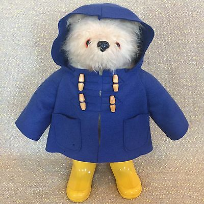 "Paddington Bear 19"" Gabrielle Designs Hand Made in England Vintage 1972 #957892"