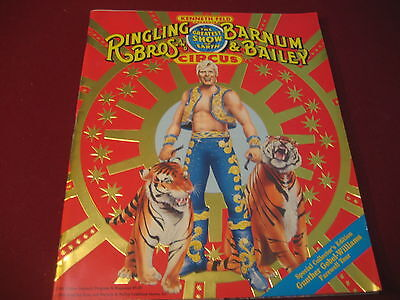 Ringling Bros. and Barnum & Bailey Circus Program 119TH EDITION  w/POSTER 1990
