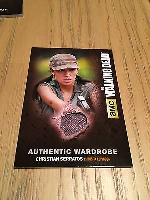 The Walking Dead Season 4 Part 2 - Costume Card M55 Rosita