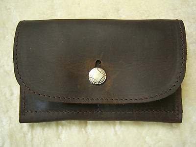 Full Grain Top Quality Havanna Leather Tobacco Pouch / Wallet