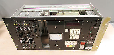Telefunken rack with 2 x Lawo 361-1 reverb unit and 1 x 361-3 module