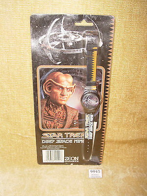 Vintage Star Trek Deep Space Nine Zeon Quartz Watch Mic Sealed 1993 Gift Idea