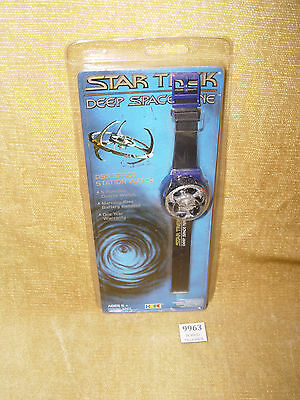 Vintage Star Trek Deep Space Nine Ds9 Space Station Watch #53211 Hope 1994 Gift