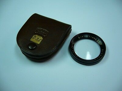 607K02 Carl Zeiss Jena Distarlinse 3,5/IV Nr. 55402; Distar lens 42 mm