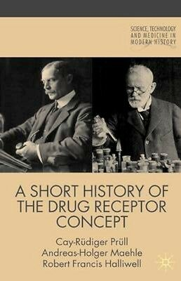 NEW A Short History Of The Drug Receptor Concept by... BOOK (Hardback)