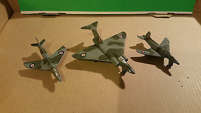 dinky toys military aircraft joblot excellent