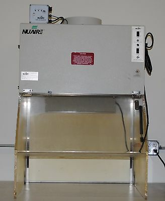 Nuaire NU813-300E 3' Biological hood with air-flow filter