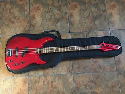 Peavey Unity Series Electric Bass Guitar USA Red w/ Case