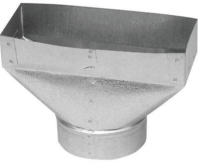 Imperial GV0691 REGISTER UNIVERSAL BOOT 30 ga Steel Galvanized CARTER REGISTRE