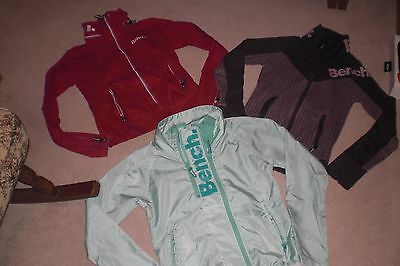 Lot of 3 Womans Bench Jackets and Yoga Pants sz SM
