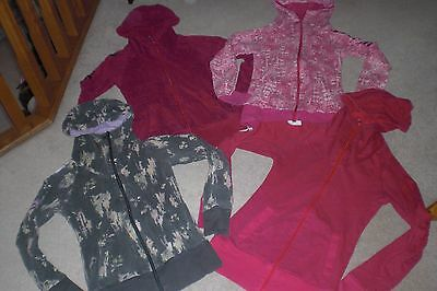 Lot of 4 Womans Bench Jackets / Hoodies sz SM