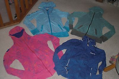 Lot of 4 Womans Bench Jackets / Hoodies sz L