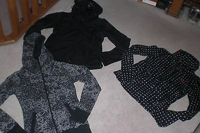 Lot of 3 Womans Bench Jackets / Hoodies sz M