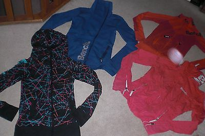 Lot of 4 Womans Bench Jackets /  Hoodies sz XS