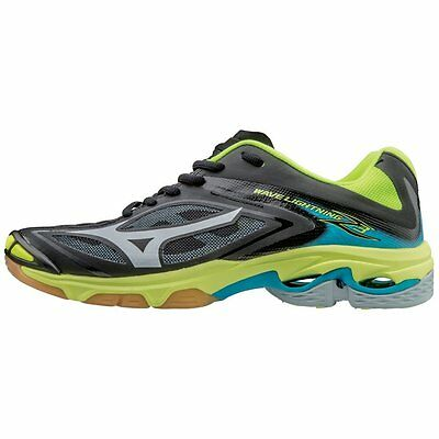 Mizuno Wave Lightning Z3 Women's Volleyball Shoes  Black & Safety Yellow  430228