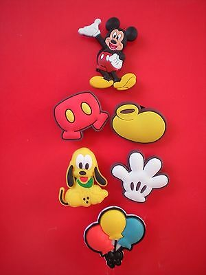 s Clog Shoe Plug Charm Button Band Accessories Mickey Minnie Mouse