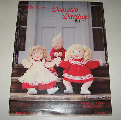 doll making patterns DOORSTOP DARLINGS summit 1983 soft sculpture Faye Presnell