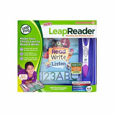 Leap Frog Leap Reader Reading And Writing System - Pink - Leapreader