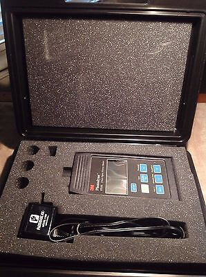 3M Photodyne, Fiber Optic Power Meter WITH Hard Case - Works Great!