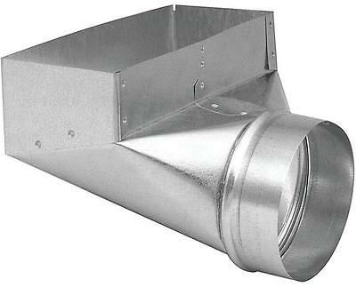 Imperial GV0624 REGISTER ANGLE BOOT 30 ga 90 deg Angle Steel Galvanized REGISTRE