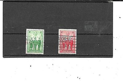 Australia #   184,185,  Used  Stamps  Beautiful Coloring