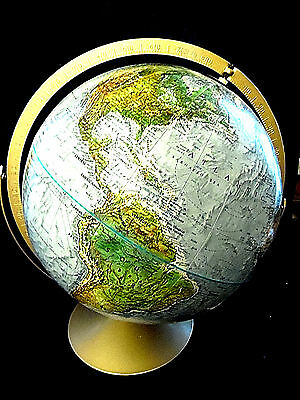 Vintage Replogle World Nations Series Tabletop Rotating Globe 12 inch window
