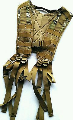 TAS 8 Point Harness Multicam Military Webbing