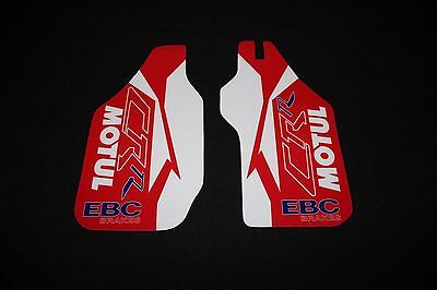 Honda Cr125-Cr250-Cr500 Lower  Fork  Guard Mx Graphics Decals Stickers
