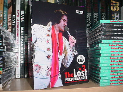 Elvis Presley The Lost Performances 3 (NEW STAR RELEASE) Digipack Edition!