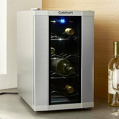 Cuisinart CWC-800 8-Bottle Private Reserve Wine Cellar Stainless NIB