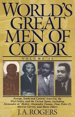 NEW The World's Great Men Of Color by J. A Rogers BOOK (Paperback) Free P&H