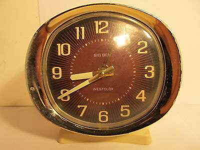 Vintage WESTCLOX -BIG BEN alarm clock. Made in USA  (ref 474)